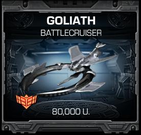 Ship Goliath
