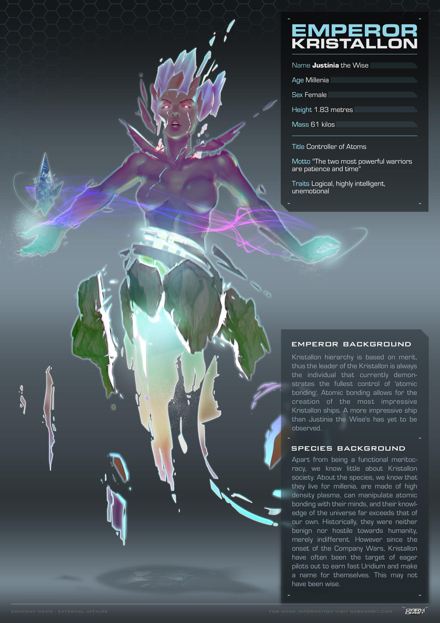 Emperor Kristallon | DarkOrbit | FANDOM powered by Wikia