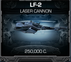 LF-2 Laser Cannon