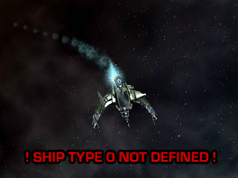 Ship Type O Not Defined