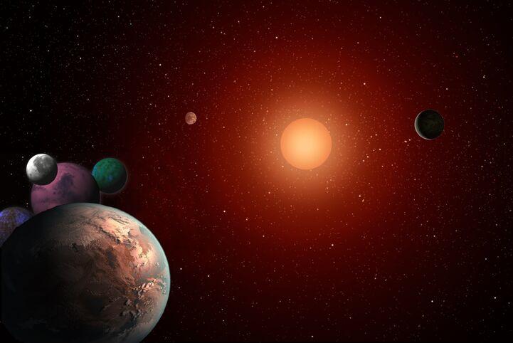 Sistema estelar darkovano