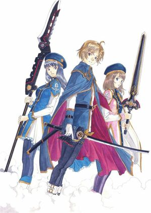 Dark Rose Valkyrie promotional artwork 1
