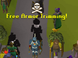 Trimming Armour Scam