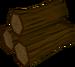 Yew logs detail