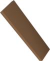 Mahogany plank detail