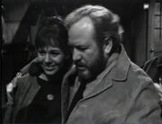Steve Dawson (left) Blue Whale customer (uncredited) acknowledged by Maggie Evans as a friend of her father ep166