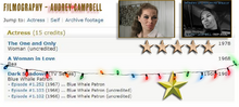 Audrey Campbell FILMOGRAPHY - PNG