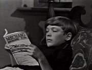 David with an issue of Mechano Magazine 1966
