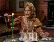 Angelique burns house of tarot cards