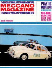 Meccano Magazine cover June 1966