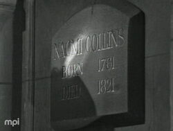 Naomi collins mausoleum