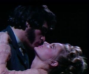 Quentin and Charity in dream sequence