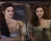 Josette and Victoria 1991