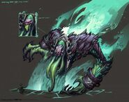 Darksiders2 character hell wailing host by avery coleman
