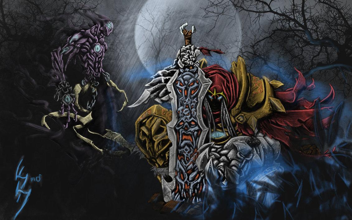 Darksiders War Wallpaper By: Darksiders-War And The Watcher Wallpaper-by