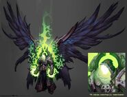 Darksiders2 character heaven the arbitor corrupted by avery coleman