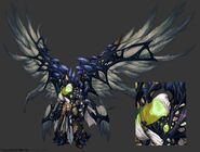 Darksiders2 character heaven archon corrupted by avery coleman