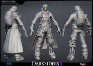 Darksiders II Hunter highpoly