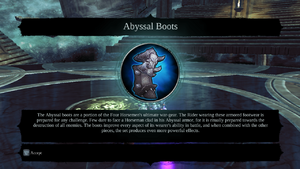 Abyssal Boots