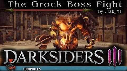 Darksiders III - The Grock Boss Fight