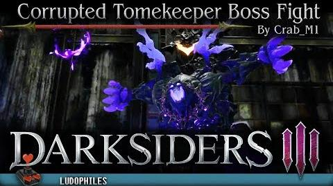 Darksiders III - Corrupted Tomekeeper Boss Fight