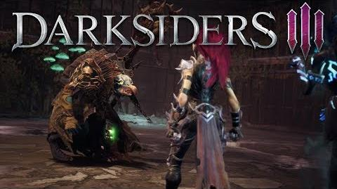 Darksiders III - Deadly Sin 1 - Envy Cinematic and Gameplay