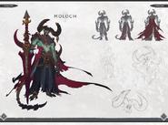 Darksiders Genesis Moloch Concept Art 2