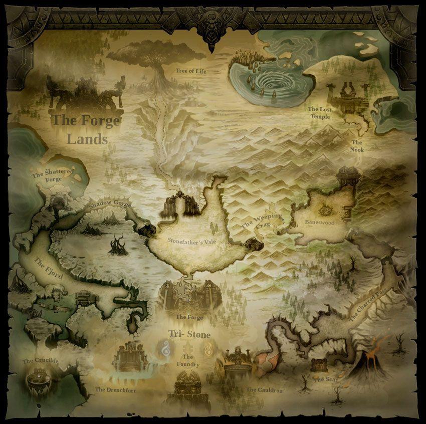 Forge Lands | Darksiders Wiki | FANDOM powered by Wikia