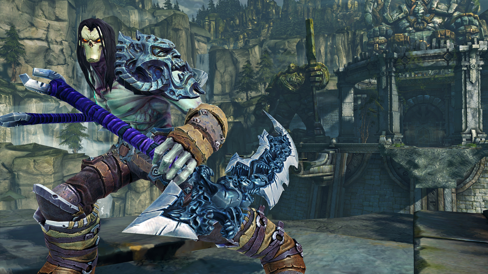 How to run Darksiders 2 on a very weak 2000 PC 67