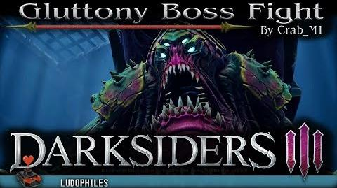 Darksiders III - Gluttony Boss Fight