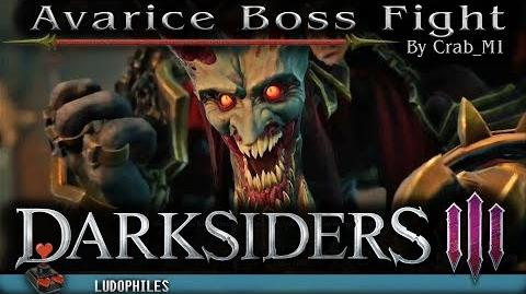 Darksiders III - Avarice Boss Fight