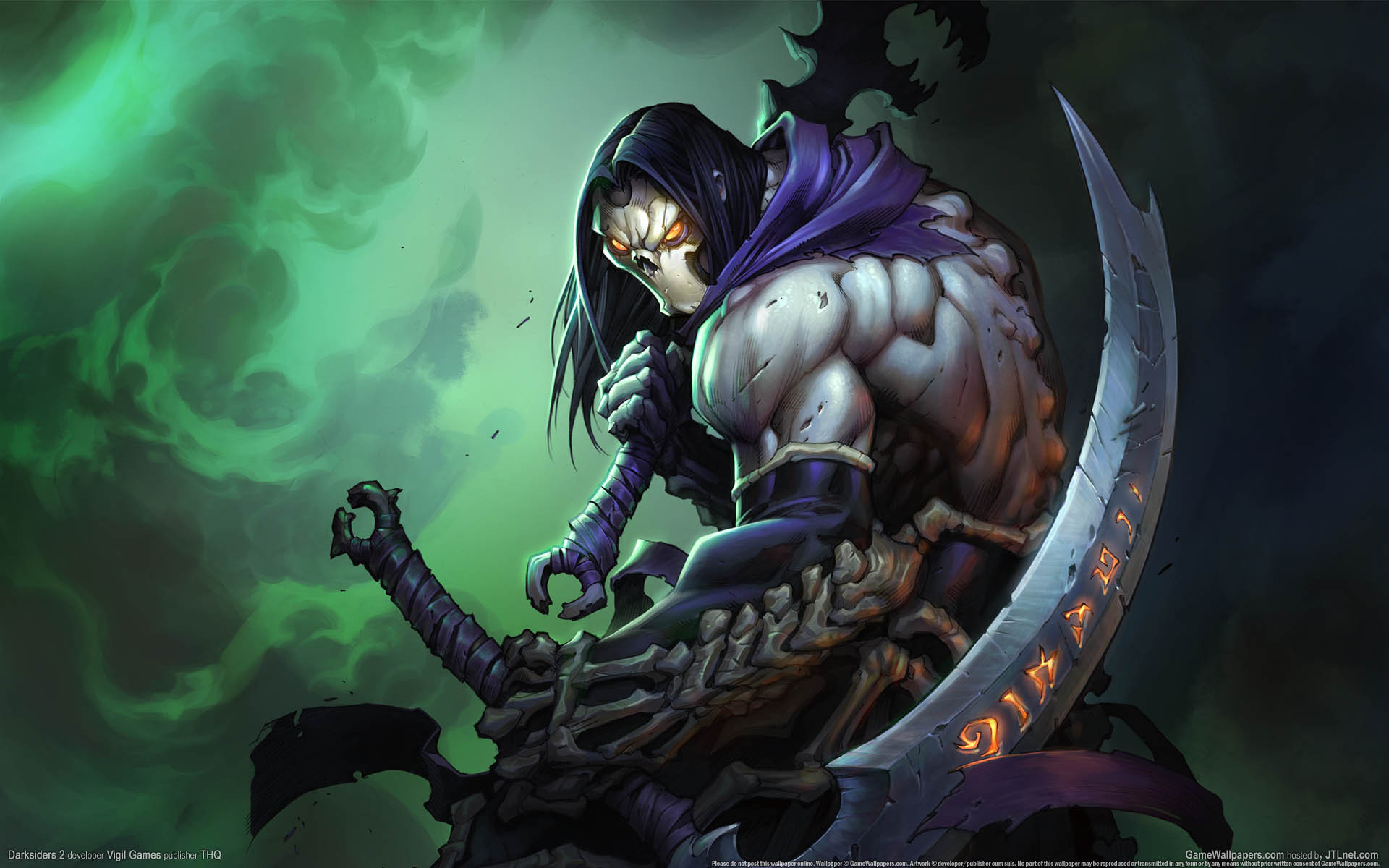 image - death art | darksiders wiki | fandom poweredwikia
