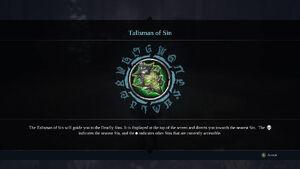 Talisman of Sin