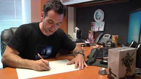 Joe Mad's Drawing Process - Darksiders 2