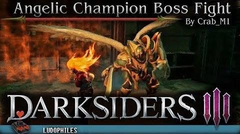 Darksiders III - Angelic Champion Boss Fight