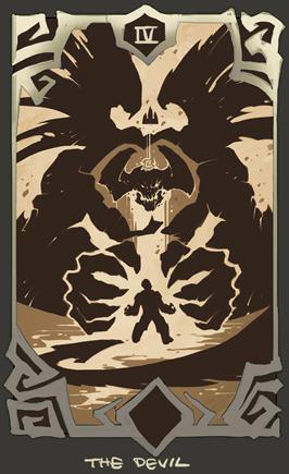Darksiders - devil card