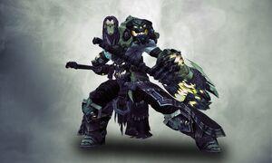 Sod scythe weapon