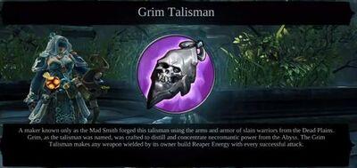 Grim Talisman