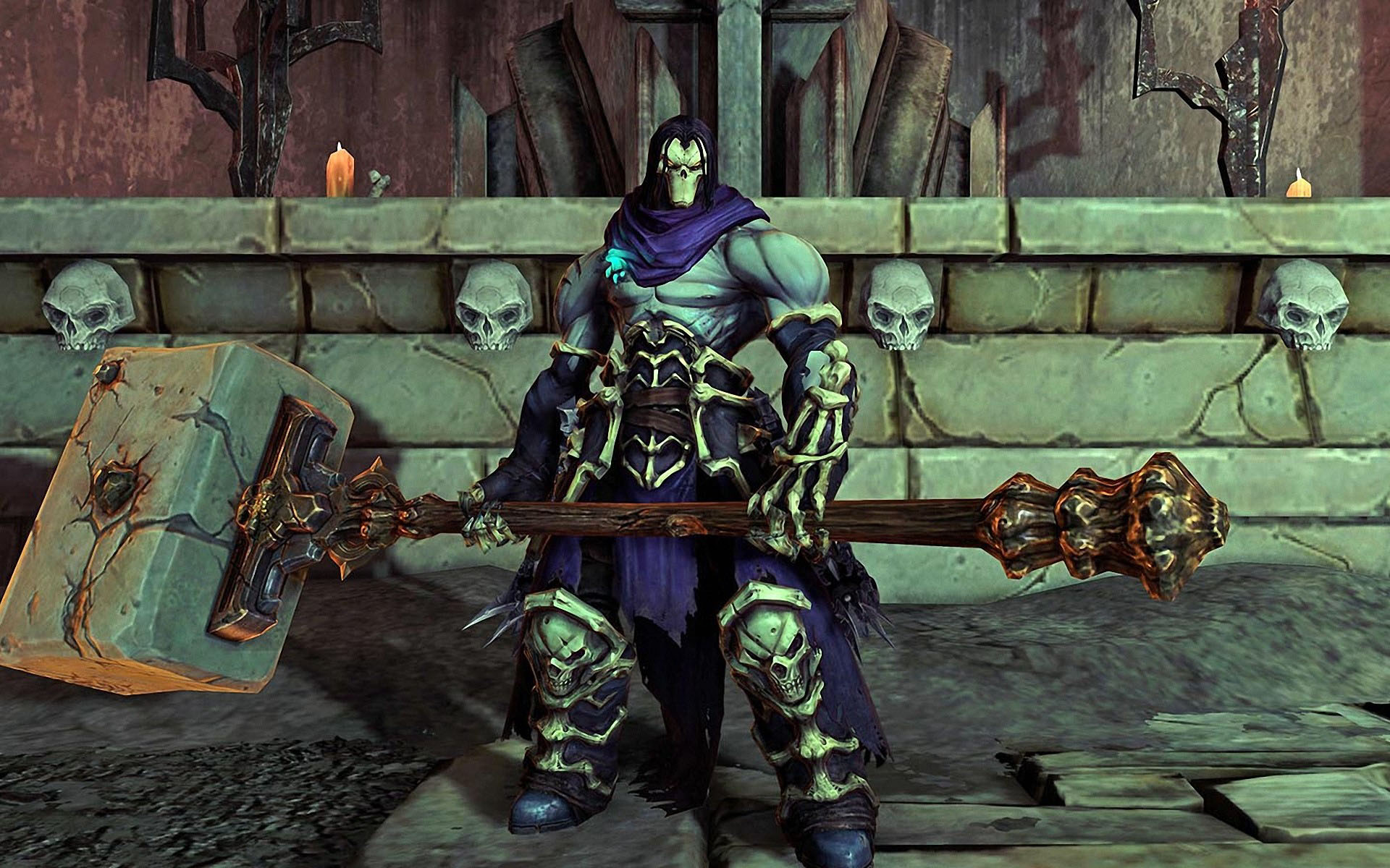 image - darksiders-2-death-hammer | darksiders wiki | fandom