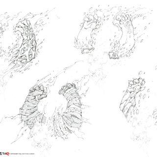 Jamaerah (magische Arme) - Konzeptzeichnung 4