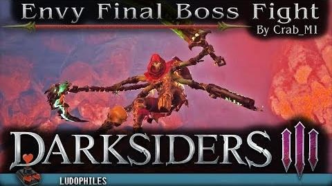 Darksiders III - Envy Final Boss Fight
