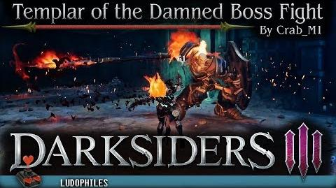 Darksiders III - Templar of the Damned Boss Fight