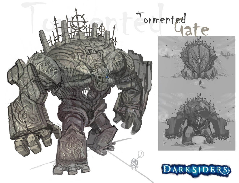 Darksiders tormented gate