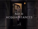 Auld Acquaintances