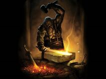 Blacksmith-forging-a-sword-wallpaper