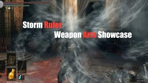 Weapon Arts Showcase Storm Ruler