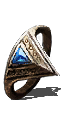 Ring Clear Bluestone Ring