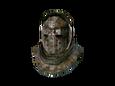 Старый панцирный шлем
