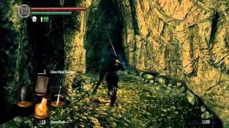 Dark Souls - Escape the Tomb of the Giants Catacombs(bypass bridge)