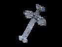 Двуручный меч с крыльями виверны
